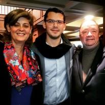 Con el actual Ministro de Defensa y ex presidente de la ANDI, Luis Carlos Villegas, en Febrero de 2015 cuando nos representaba como embajador de Colombia en Estados Unidos.
