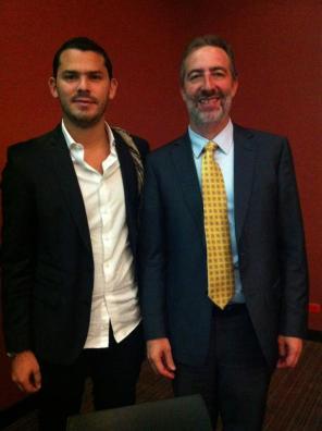 "Con Saul Singer uno de los autores del Bestseller ""Start-Up Nation"" (https://en.wikipedia.org/wiki/Start-up_Nation)"