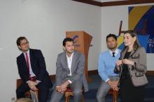 Conferencia de emprendimiento y liderazgo con las juventudes del partido Conservador