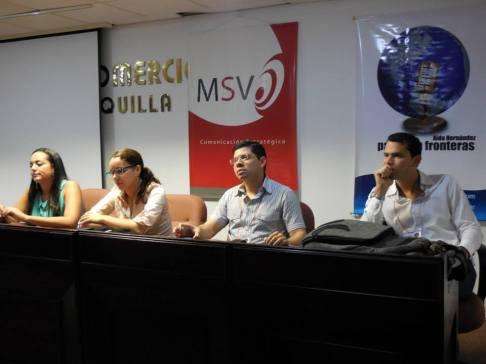 Conferencia en Cámara de Comercio de Barranquilla (2013)