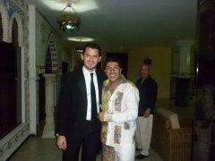 Con el Checo Acosta, cantante y artista del folclor colombiano