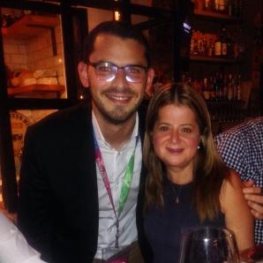 Con Elsa Noguera, Alcaldesa de Barranquilla, en Washington en el marco del evento del BID, Demand Solutions - Ideas For Improving Lives In Cities. (2015)