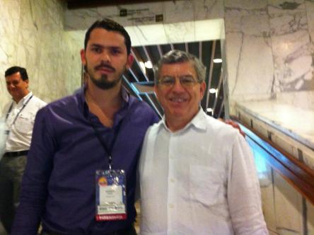 Con el Ex-Presidente de la República Cesar Gaviria