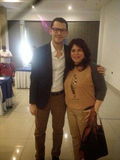 Representante del área de emprendimiento de la Uniautónoma (Evelyn Blanco)
