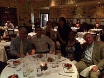 Compartiendo con miembros de la Junta Directiva y staff de GGF