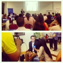Conferencia en Cámara de Comercio Barranquilla. (2014)
