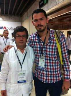 Con Luis Alberto Moreno, Presidente del BID.