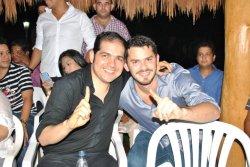 Con Peter Manjarres, expositor de la música vallenata